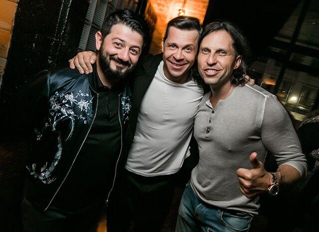 Алексей Чадов отпраздновал день рождения в компании Николая Расторгуева и Анастасии Задорожной