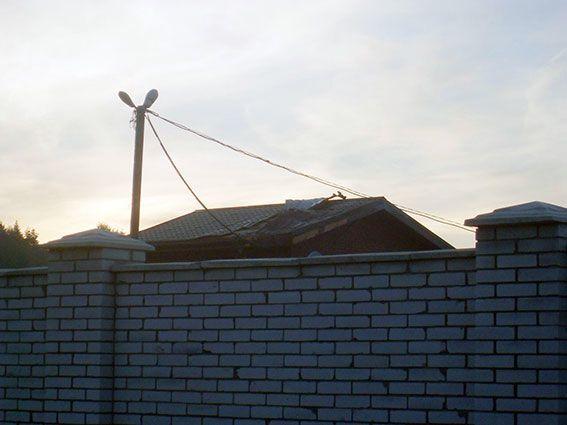 В Харьковской области из РПГ обстреляли дом