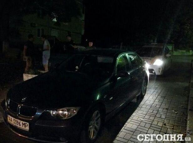 """У Києві затримали п'яного хлопця на """"маминому BMW"""""""