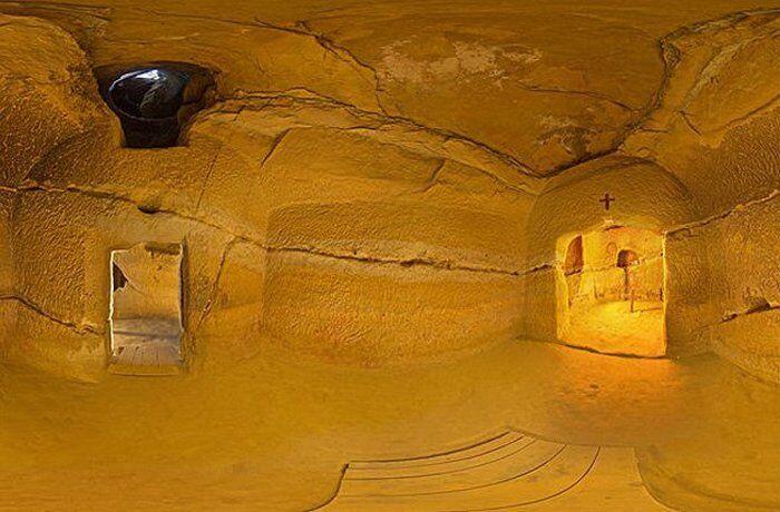 Пещерный храм в Синка Вече - Храм Судьбы.