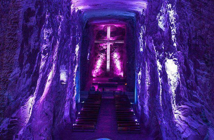 Соляной собор Сипакира - 150 метров под землёй.