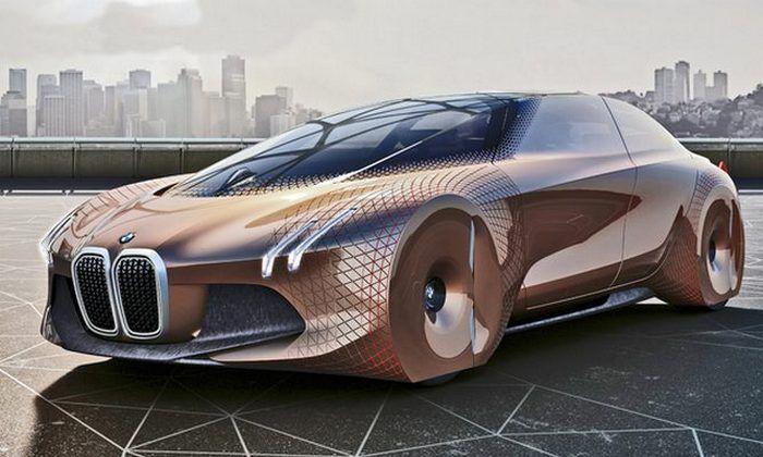 Автомобиль BMW Vision Next100.