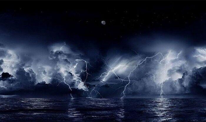 Невероятное природное явление: вечный шторм.