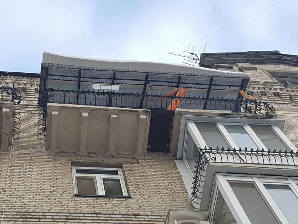 """""""Когда оно хряпнется…"""" Нардеп показал мега-балкон в центре Киева"""