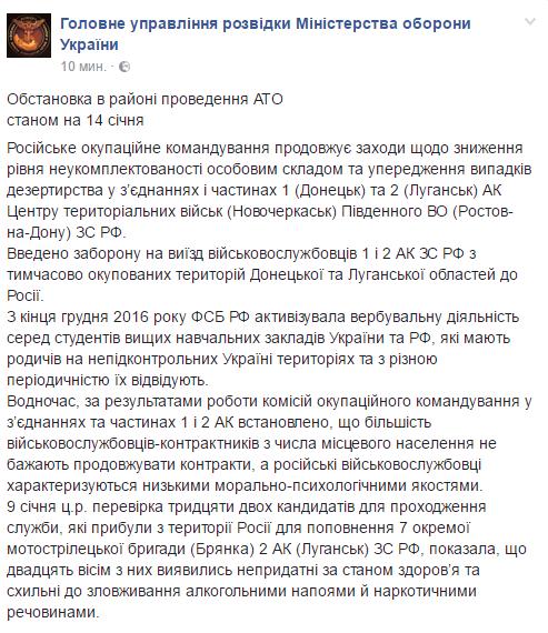 """""""Л/ДНР"""" ослабли: в ГУР рассказали, как российские военные теряют боеспособность"""