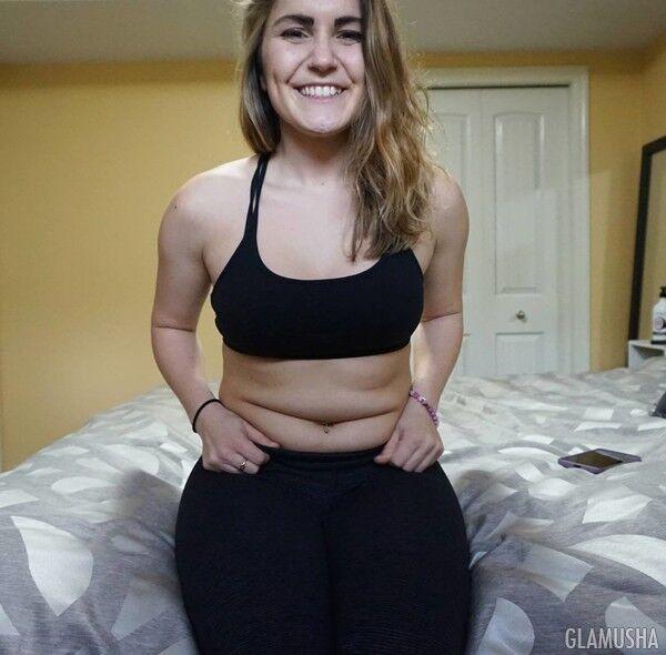 Никаких диет: экс-бодибилдер решила бросить спорт и рада жировым складкам