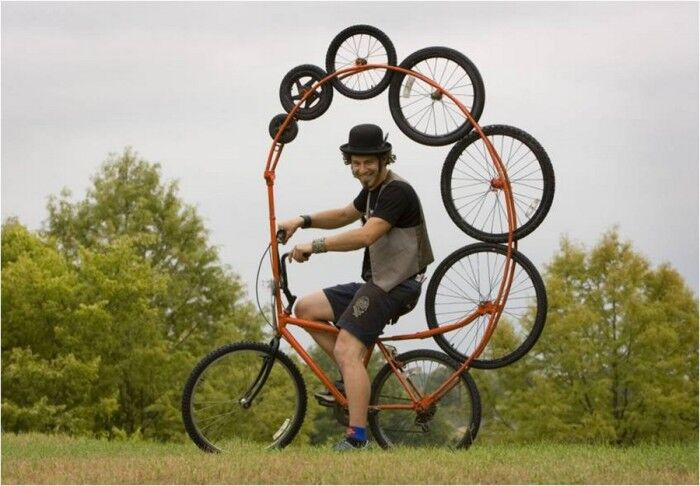 8-колёсный велосипед Тодда Кундла