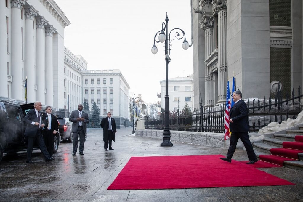 Визит друга Украины: Порошенко начал встречу с Байденом