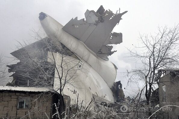 Под Бишкеком рухнул Boeing: все подробности, фото и видео