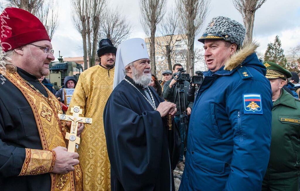 """Богоугодное дело: церковники """"привели в готовность"""" зенитные комплексы в Крыму"""