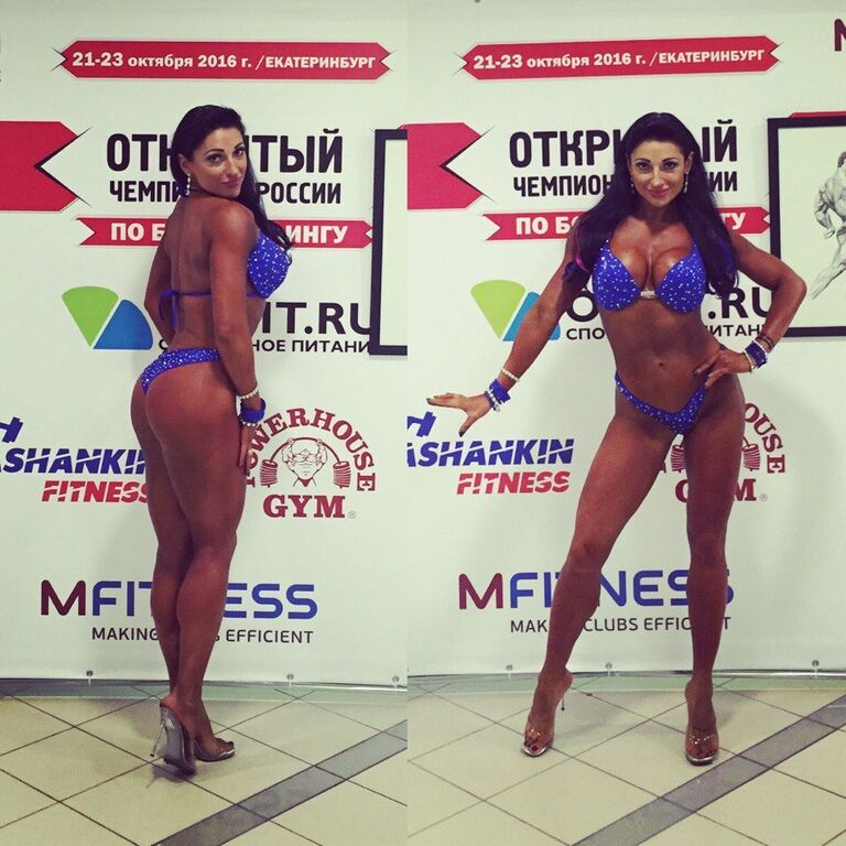 Известная чемпионка по фитнес-бикини из России снялась обнаженной