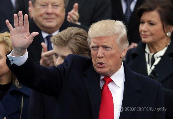 Инаугурация Трампа: все подробности и реакция соцсетей онлайн