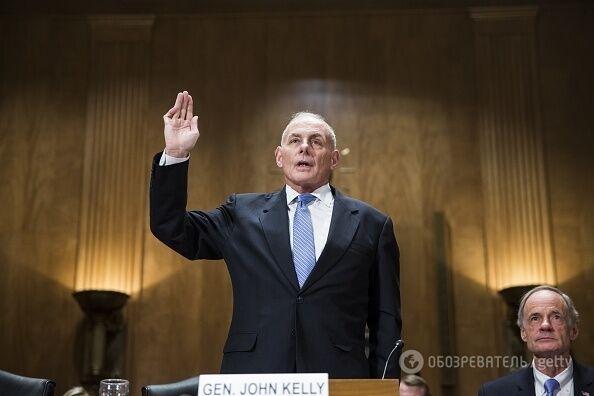 Первые назначения Трампа: утвержден министр внутренней безопасности США