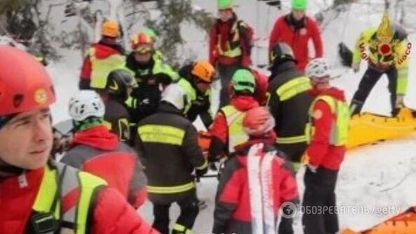 Українців закликали не їхати в центральну Італію