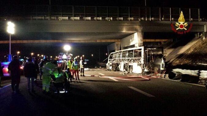В Італії розбився автобус із дітьми