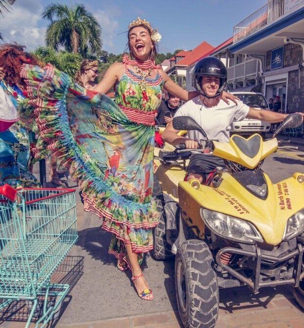 Українська модель знялася в яскравій рекламі всесвітньо відомого бренду