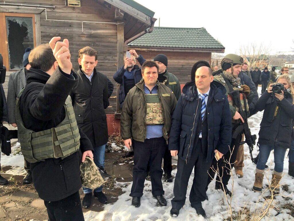 Клімкін показав новому главі ОБСЄ наслідки російської агресії на Донбасі