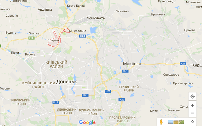 Бои под Авдеевкой: стало известно о продвижении сил АТО в результате контратаки