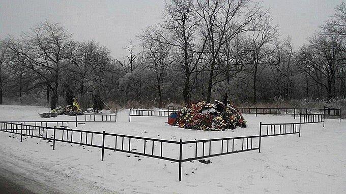 У мережу потрапили фото з могили Мотороли в Донецьку
