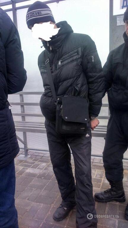 В Запорожье задержали парня с гранатой и наркотиками