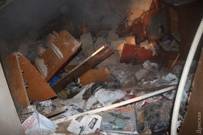 В Одесі вибухнув житловий будинок