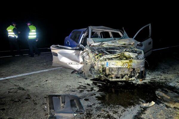 Чудовищное ДТП пиКиевом: погибли два человека