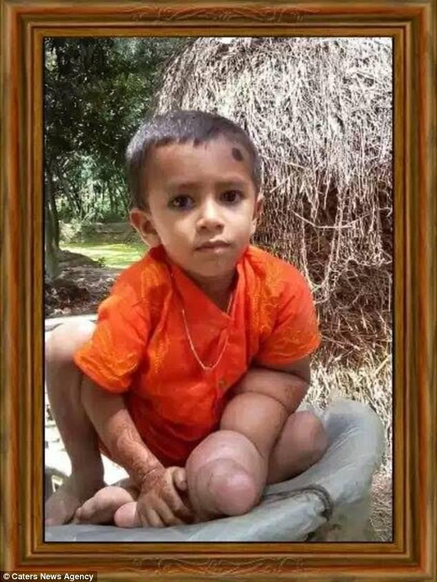Маленький диявол: 5-річного хлопчика вважають небезпечним через гігантську кам'яну руку