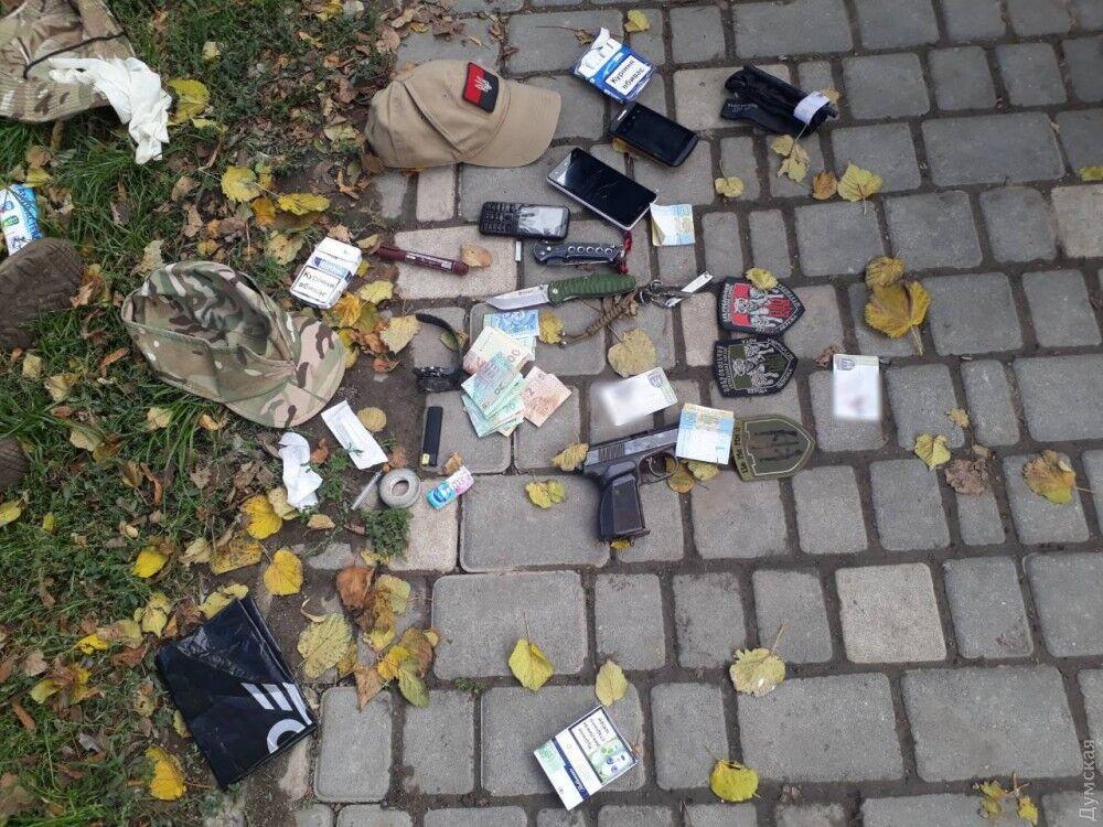 Пьяные экс-бойцы АТО устроили драку вОдессе