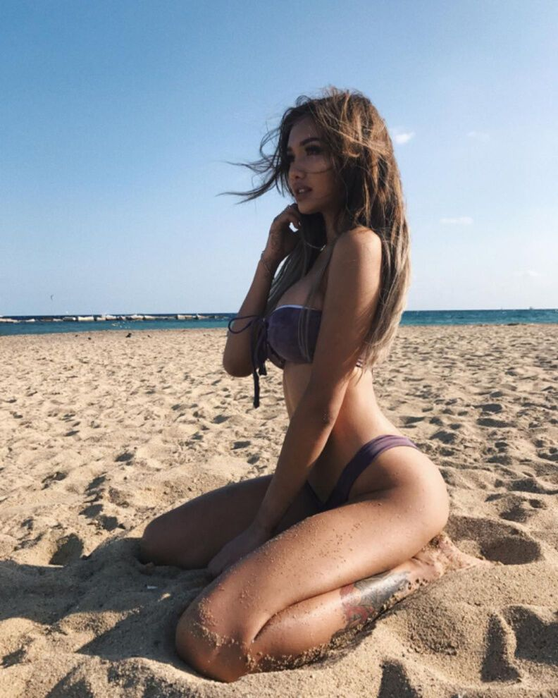 """Казахстанську спортсменку не злюбило півкраїни через """"розпусні"""" фотографії"""