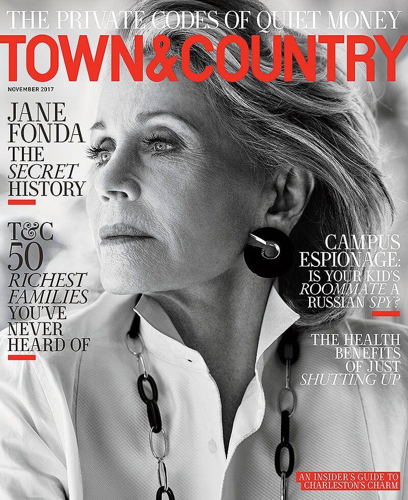 Джейн Фонда в Town&Country
