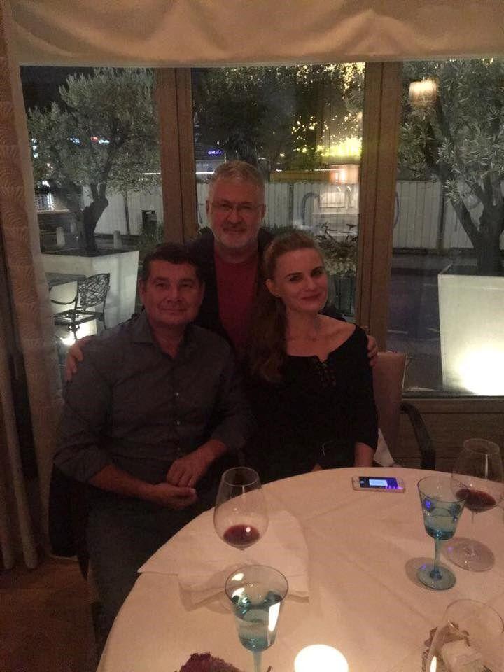 Онищенко и Коломойский в Женеве