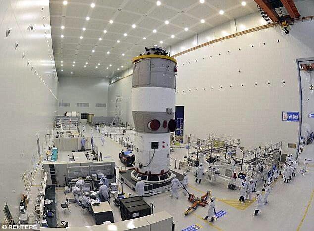 Китайська космічна станція безконтрольно падає наЗемлю— ЗМІ