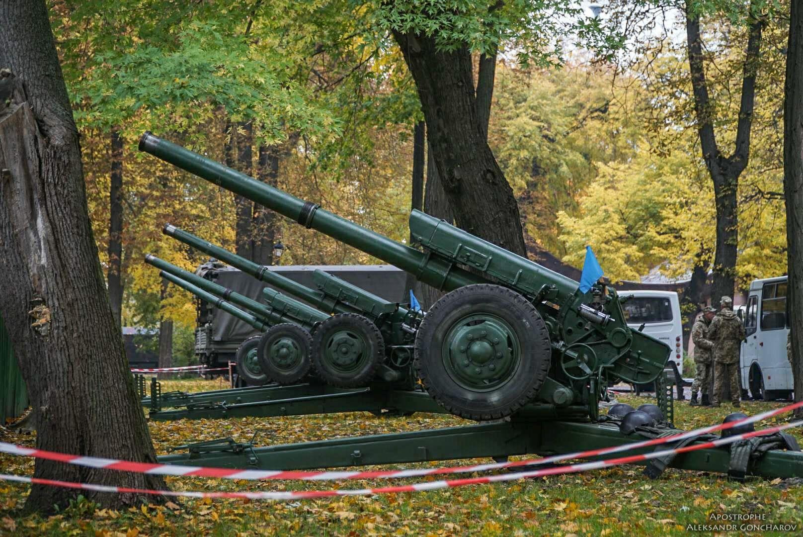Пушки под Верховной Радой