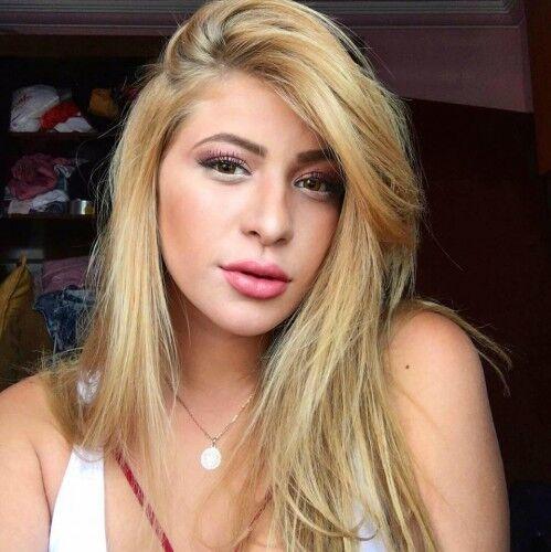 Моника Салум, девушка Фреда