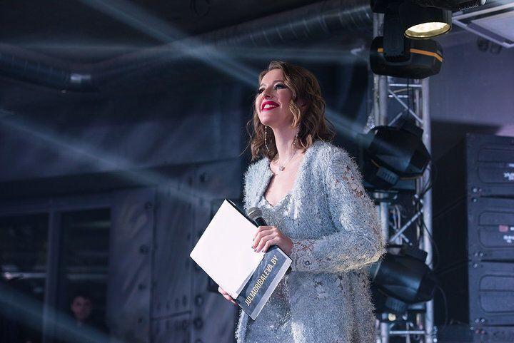 Соперница Путина на выборах засветилась на вечеринке в Минске