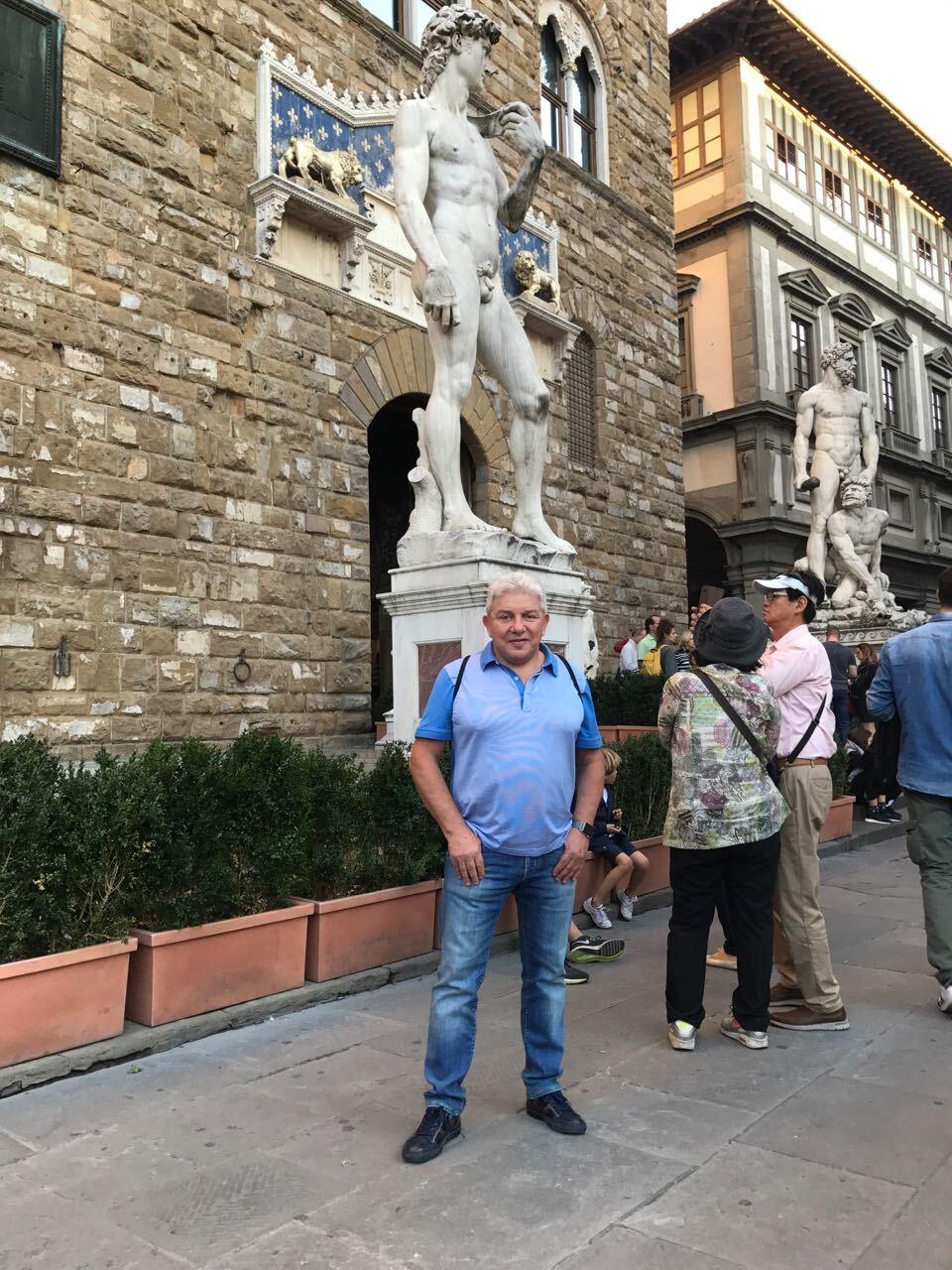 Олег Филимонов чуть не потерялся в Италии