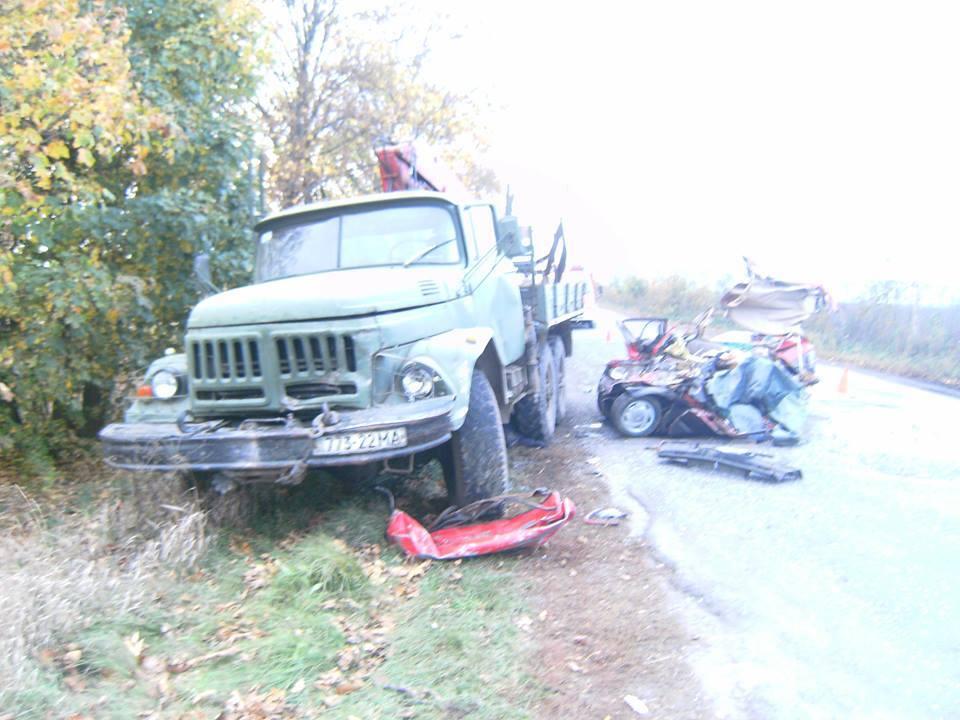 Водитель и пассажир погибли на месте ДТП