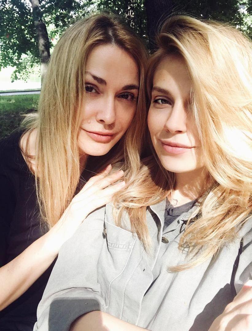 Ольга Сумська з Антоніною Паперною