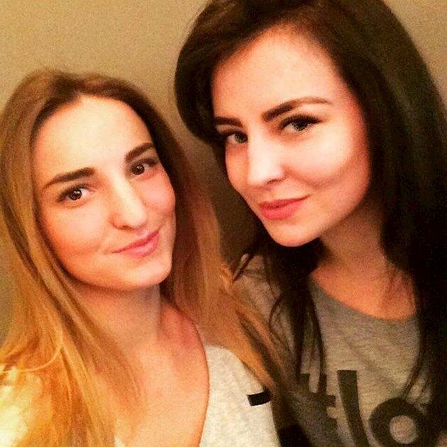 сестры Диана Берченко и Оксана Евтеева (Берченко)