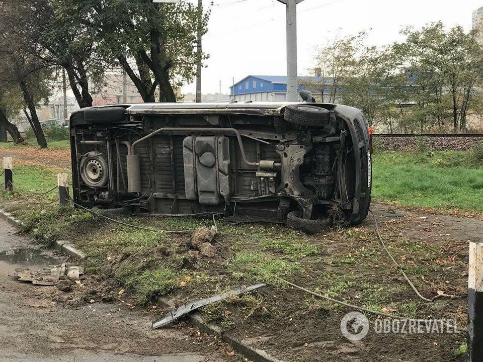 Родились в рубашке: в Киеве произошло масштабное ДТП