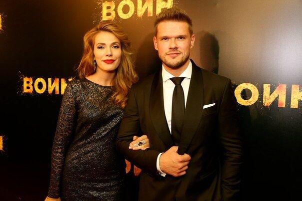 Антоніна Паперна з чоловіком Володимиром Яглич