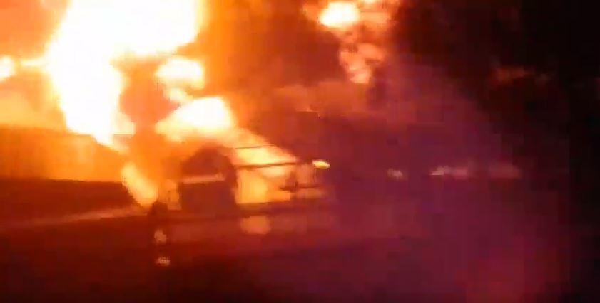 """Пылает уже три часа: в """"ДНР"""" не могут справиться с крупным пожаром"""