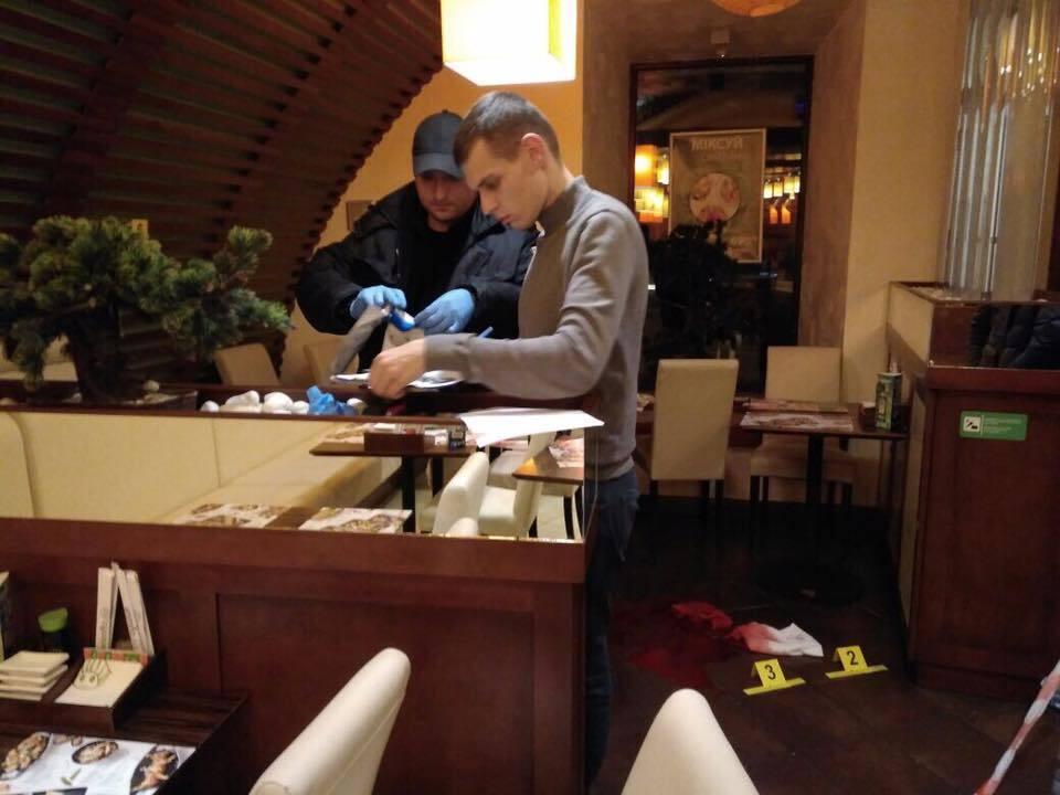 В Киеве кавказцы устроили стрельбу в ресторане: есть раненый