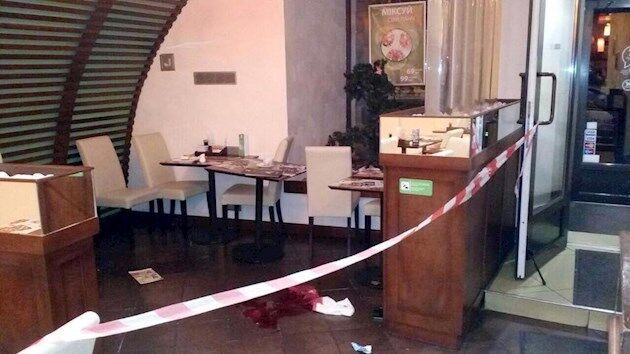 Стрельба в киевском ресторане