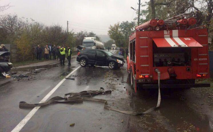 ВДТП наПрикарпатье погибло три человека, трое пострадали