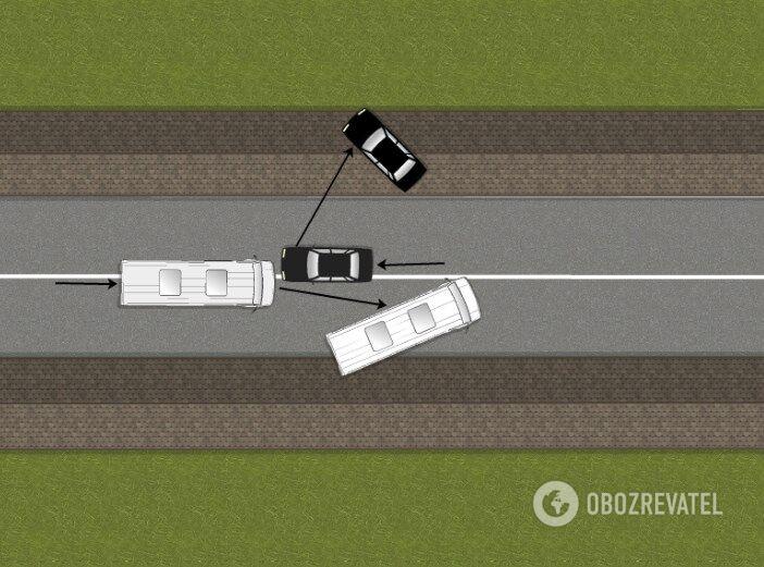 НаПрикарпатье врезультате дорожного происшествия погибли три человека