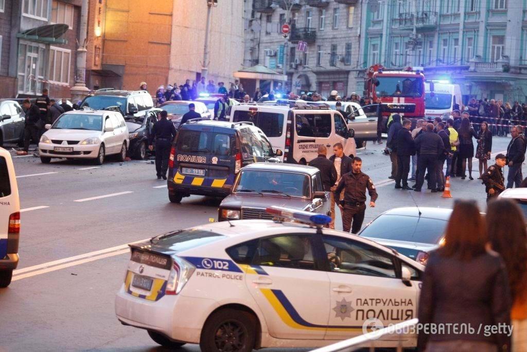 вибух в Києві Тимур Махаурі