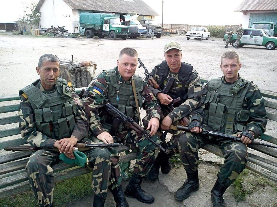 Сергей Колмогоров крайний справа