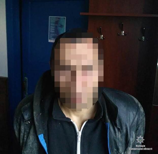 В Запорожской области задержали вора-рецидивиста (ФОТО)