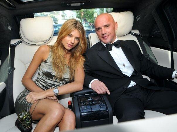 Вячеслав Константиновский и его супруга